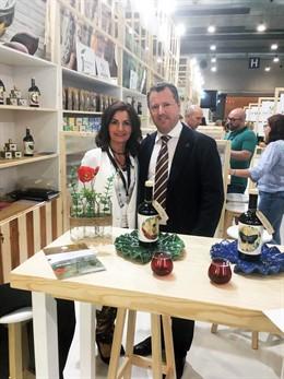 Jaén.-MásJaén.-El aceite de oliva de producción ecológica centra la presencia jiennense en el primer Organic Food Iberia