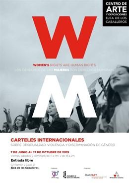 Ndp. La Dpz Lleva Al Centro De Arte Y Exposiciones De Ejea Una Selección De Carteles Internacionales Sobre Desigualdad Y Violencia De Género