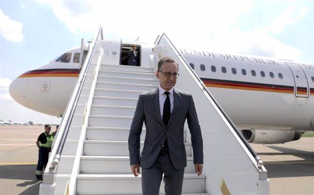 German Foreign Minister Maas visits Kiev