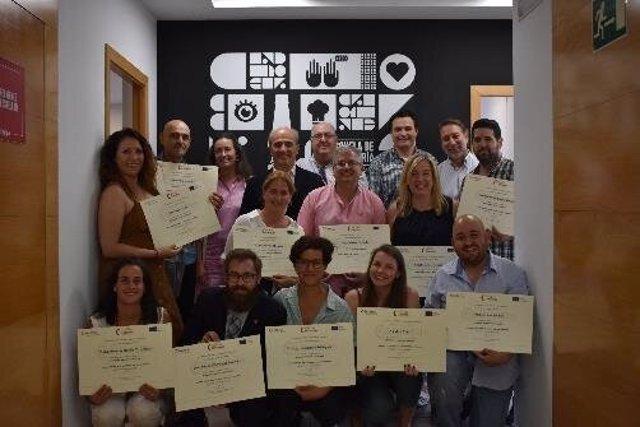 Sevilla.-Clausuran la primera edición del programa de emprendimiento hostelero de Fundación Incyde y Fundación Cruzcampo