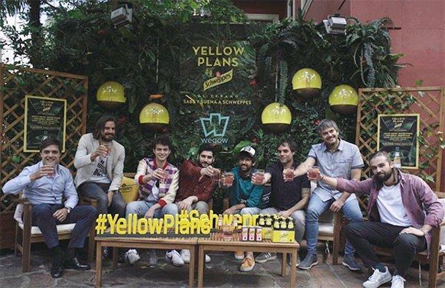 Schweppes y Wegow impulsan el ciclo 'Yellow Plans' para acercar la música y la gastronomía a los bares de Madrid