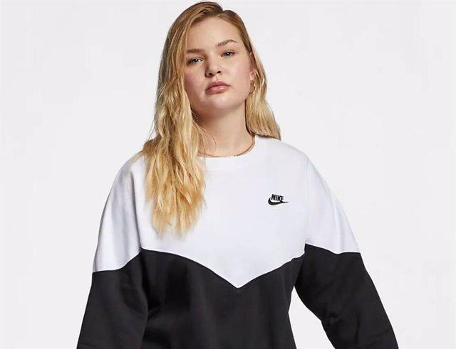 d913a49bb 'Nike' revoluciona el mercado de la moda deportiva incluyendo maniquíes de  talla grande