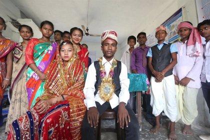 El matrimonio infantil también es cosa de niños