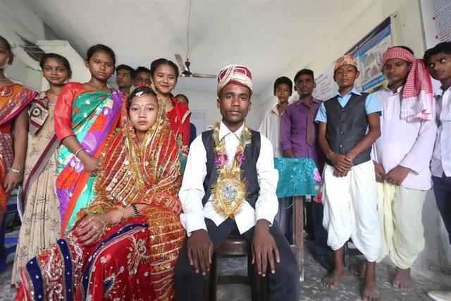 DDHH.- UNICEF alerta que 115 millones de hombres se casaron siendo aún niños