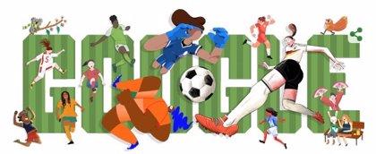 Google celebra el comienzo de la Copa Mundial Femenina 2019 con un futbolero 'doodle'