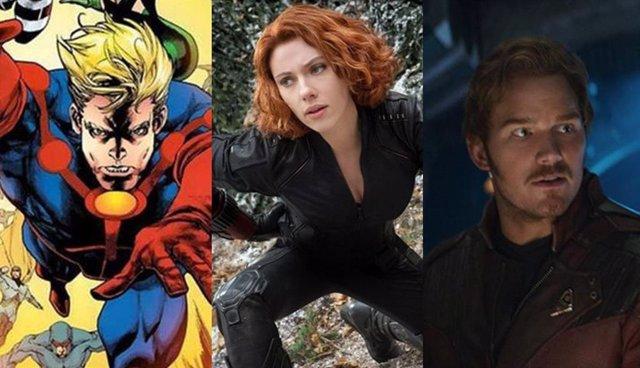 Las películas de la Fase 4 de Marvel se conocerán en el D23 de Disney