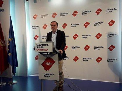 """Esparza, a la espera de hablar con Sánchez, dice que PSN """"va en dirección contraria"""" a evitar pactos con nacionalistas"""