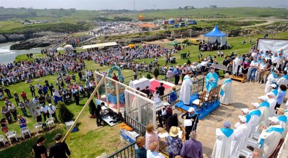 Santander celebra la Virgen del Mar con actividades todo el fin de semana y el lunes