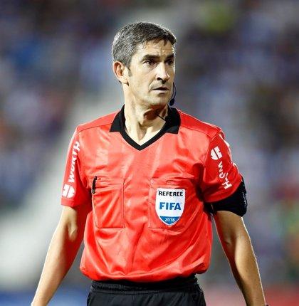 Undiano Mallenco arbitrará este domingo la final Portugal-Holanda de la Liga de Naciones