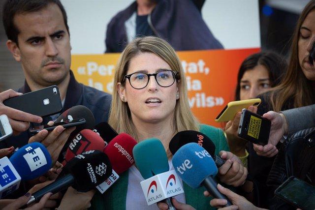 Elsa Artadi Atén Als Mitjans Davant El Tsjc