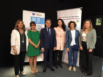 El Programa Operativo del Fondo Social Europeo ha invertido más de 37 millones en Euskadi