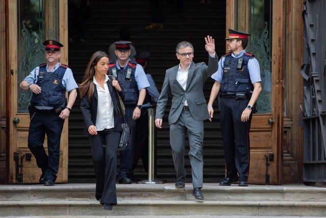 Josep Maria Jové declara com investigat per el 1-O a Barcelona