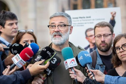 La CUP cree que solo con la autodeterminación se acabarán las causas como la de Jové
