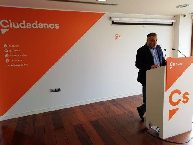 "26M-M.-Ciudadanos, ""abierto a escuchar"" en la Diputación ourensana, avisa que pactarán ""con políticas, no con políticos"""