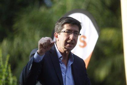 """Marín (Cs) confía en dar estabilidad a ayuntamientos con PP-A o PSOE-A hablando de """"programas y no de sillones"""""""