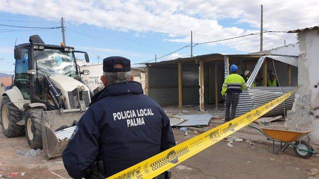 Cort derriba el albergue número 36 reconstruido en Son Banya