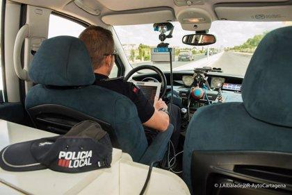 Policía Local de Cartagena informa de la ubicación de los controles de velocidad para esta semana