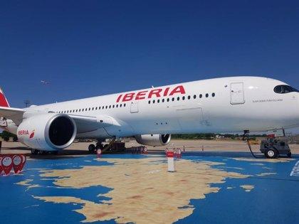 Iberia, primera aerolínea que vuela a Colombia con el A350-900