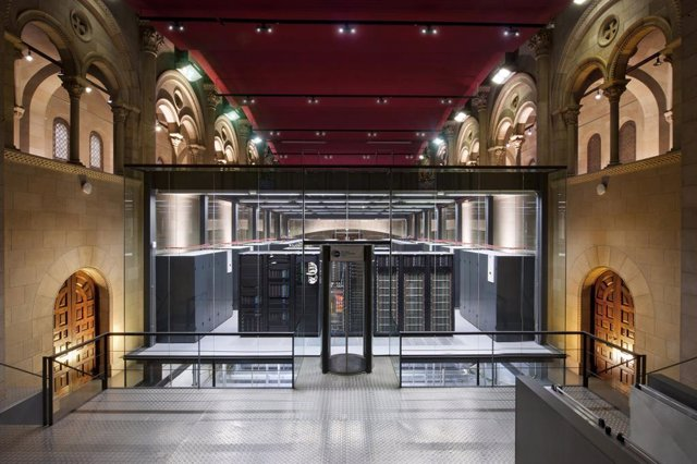 Supercomputador Marenostrum del Barcelona Supercomputing Center (BSC-CNS)