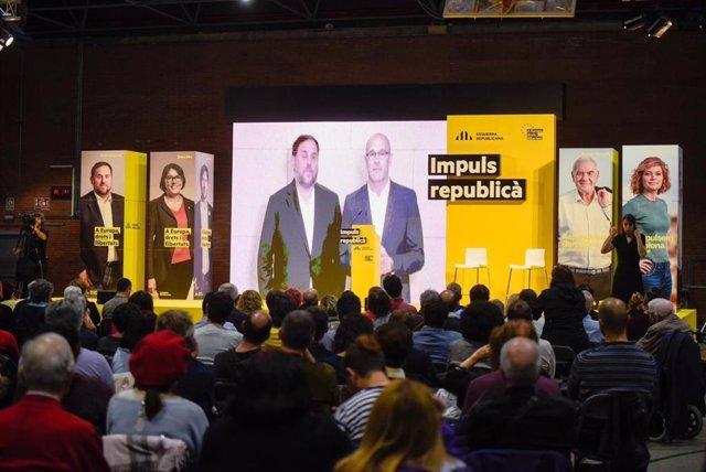 La Fiscalia mantindr el delicte de rebellió per Junqueras i altres vuit encausats en el judici del 'procs'