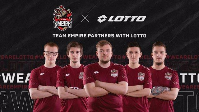 Varios.- Lotto, patrocinador del equipo ruso Team Empire de e-Sports