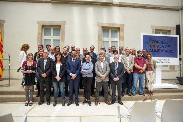 Agro.- El Consell Català de l'Alimentació servirá para impulsar el Pacto Nacional para la Política Alimentaria