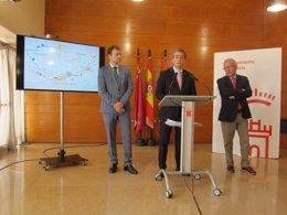 Jesús Pacheco presenta el Itinerario Turístico de