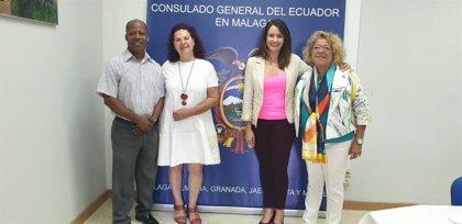 La ONG Incide y el Consulado de Ecuador en Málaga firman un convenio marco de colaboración