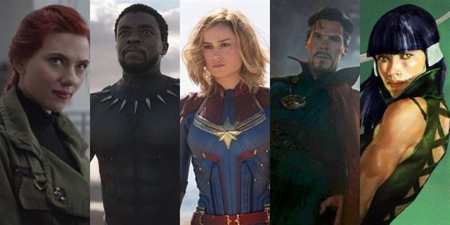 Filtradas las 12 películas de Marvel en su Fase 4