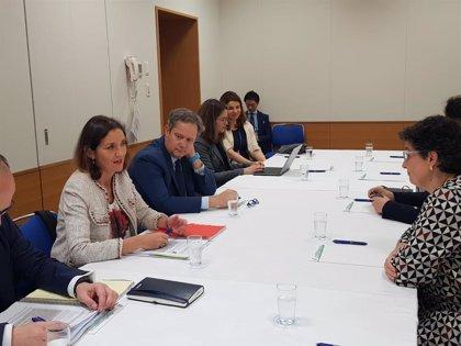 Maroto destaca la importancia del desarrollo sostenible y la cuestión de género en el comercio internacional