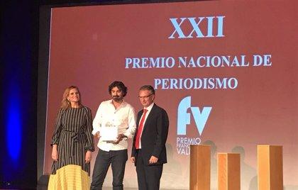Javier Arcenillas gana el XXII Premio Nacional de Periodismo Francisco Valdés de Don Benito con el artículo 'Sicarios'