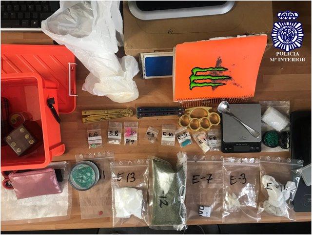 Aprehensión De 400 Gramos De Cocaína A Dos Pasajeros En La Estación Delicias