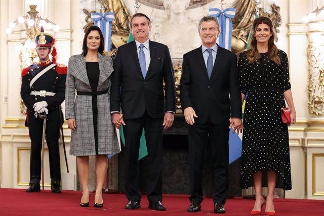 Brazilian President Jair Bolsonaro visits Argentina