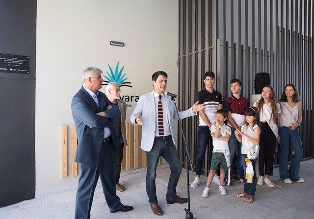 El president de la Diputació de Barcelona inaugura a dena la biblioteca 227 de la xarxa