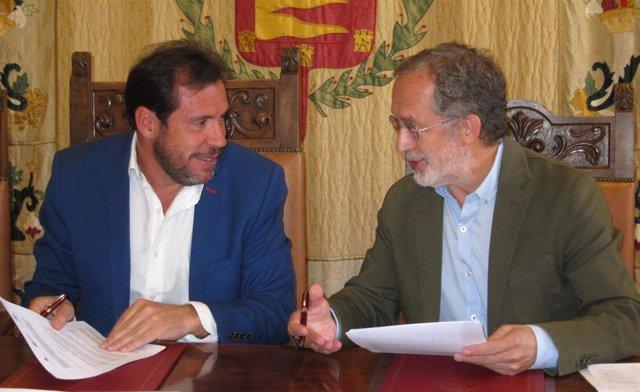 Óscar Puente Y Manuel Saravia. 4-10-18
