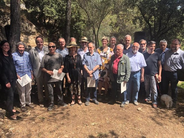 Vilallonga encapala un homenatge de la Generalitat a promotors de l'art de la pedra en sec