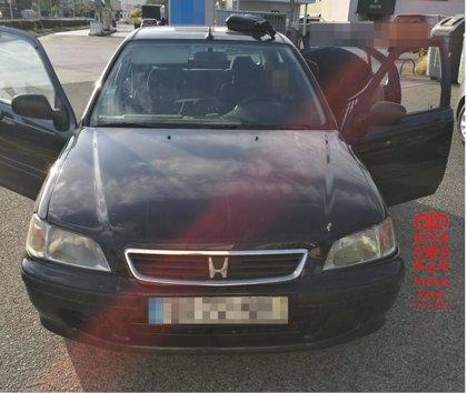 Detenido un conductor francés que viajaba desde Murcia a Francia sin permiso de conducir