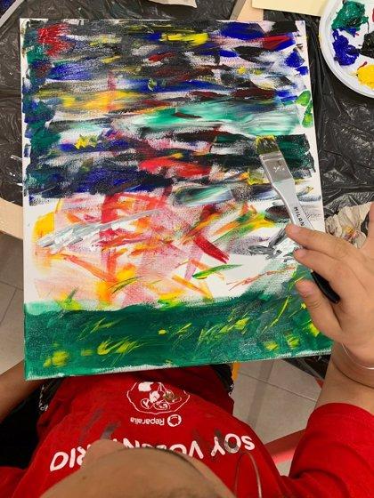 El Museum Jorge Rando culmina su programa anual con Aldeas Infantiles con la exposición de las obras realizadas