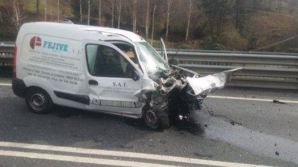 Aumenta un 5% la mortalidad y un 27,6% los heridos graves en las carreteras vascas hasta mayo