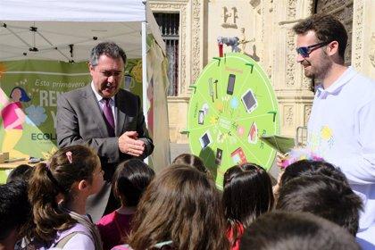 La recogida selectiva crece un 5% en Sevilla, con aumentos que rozan el 10% en reciclaje de envases