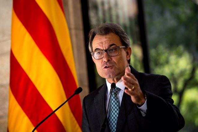 El expresidente de la Generalitat de Cataluña Artur Mas