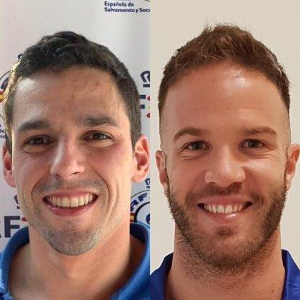 Mikel Escalona y Francisco Javier Catalá firman dos récords mundiales de salvamento y socorrismo