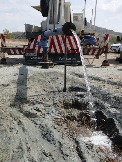 La Diputación de Almería garantiza el agua en Lubrín con un nuevo sondeo en Rambla Aljibe