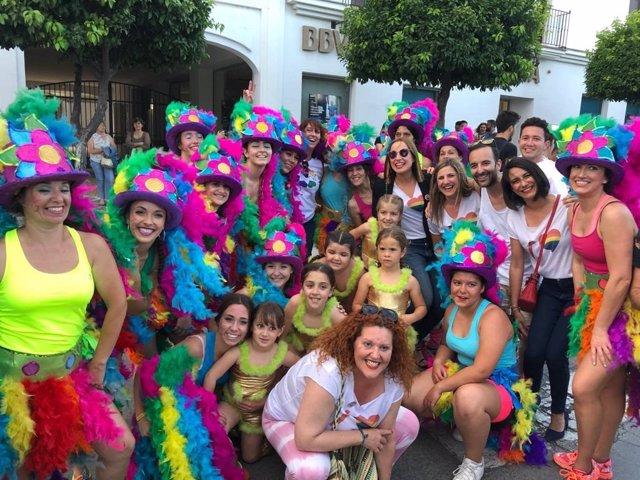 CádizAlDía.- Arcos acoge el cierre del Orgullo Serrano 2019