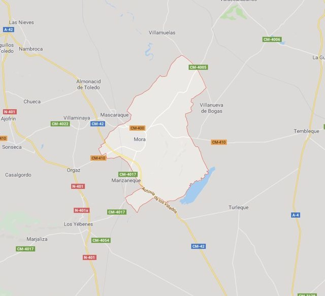 Sucesos.- Herida una persona tras caer en una zona de difícil acceso cuando practicaba parapente en Mora (Toledo)