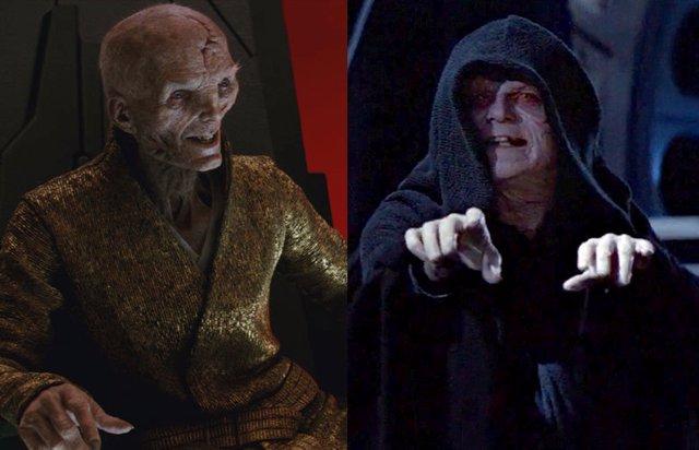 PARA DOMINGO Star Wars 9: ¿Era Snoke una marioneta del Emperador Palpatine?