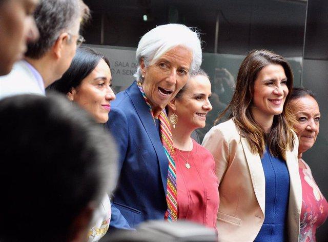 Christine Lagarde in Mexico