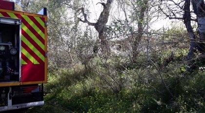 El Infoca extingue el incendio forestal de Arenas del Rey (Granada)