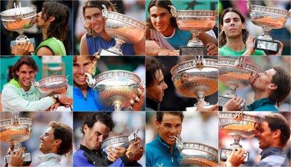 Nadal supera a Margaret Court y es el tenista con más títulos en un mismo evento de 'Grand Slam'
