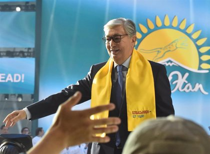 Tokayev gana las presidenciales con cerca del 71 por ciento de votos, según los resultados oficiales